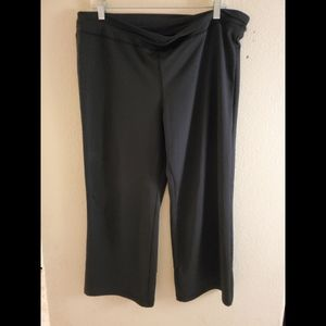Champion XXL Black Workout Yoga Crop Leggings